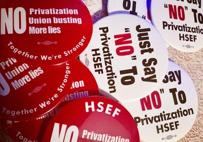 Jobs Threatened By Privatization, Educators and Their Allies Strike Back